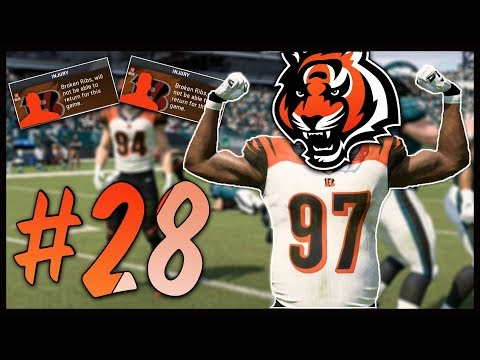 Two Starters Go Down with the Same Injury! | Madden 20 Cincinnati Bengals Franchise #28