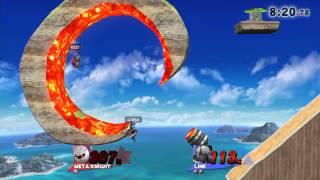 【スマブラ For WiiU】 ステージ作りして遊んでみた