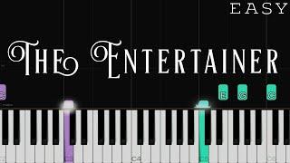 The Entertainer - Scott Joplin | EASY Piano Tutorial