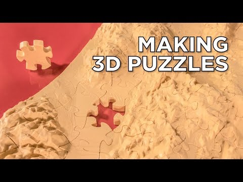 How to Make Your Own 3D Printed Puzzles