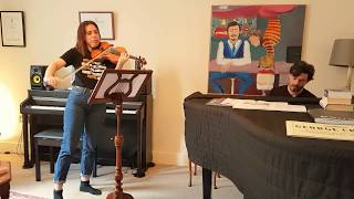 How to practise violin
