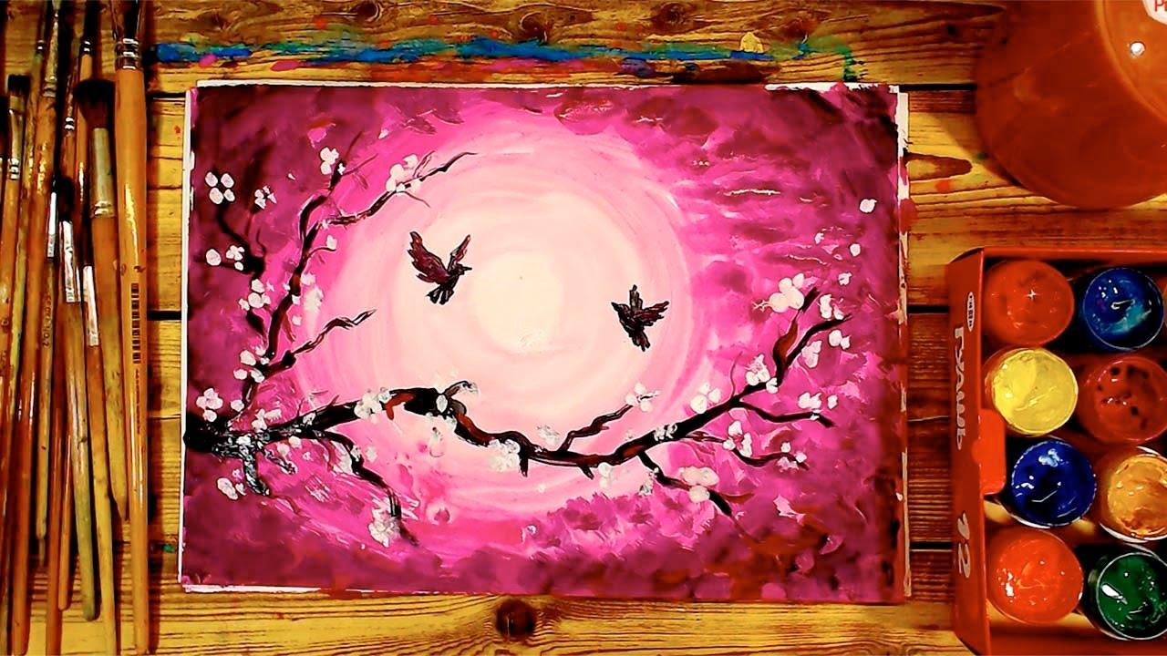 Картинки которые можно нарисовать красками, сделать интернете открытку