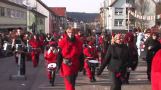 preview picture of video 'Wernauer Fasnet 2013'