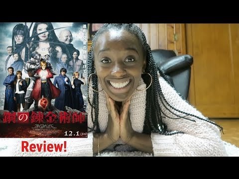 Fullmetal Alchemist Live Action Movie Review!
