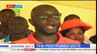 Situation in Siaya county so dire that some IEBC officials could not make it to any poling stations