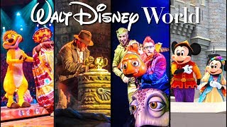 Top 7 BEST Stage Shows at Walt Disney World!
