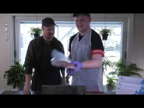 Brecom VR-2000 Pro vakuummaskin - film på YouTube