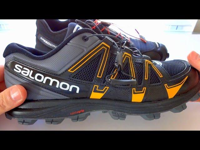 buy popular dc949 a0549 Salomon Kevlar Replacement Laces 2 Kit FELLRAISER Salomon FellRaiser vs  SpeedCross 3 Trail Hiking Outdoor Shoes 03 58 58586 ...
