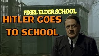Hitler goes to school