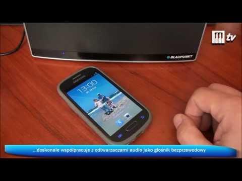 Bluetooth'owy odtwarzacz audio Blaupunkt BT20 z NFC/FM