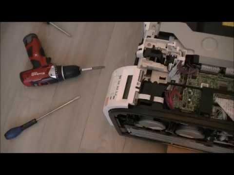 HP laserjet pro 400 color printer teardown part 1