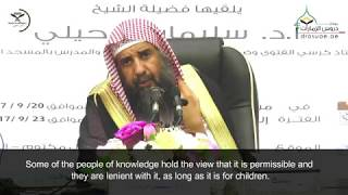 The Ruling On Playing With Childrens' Dolls That Resemble That Which Possesses A Soul