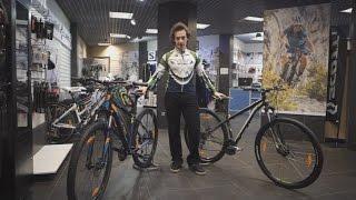 Видео: Различия между горными велосипедами любительского и продвинутого уровней