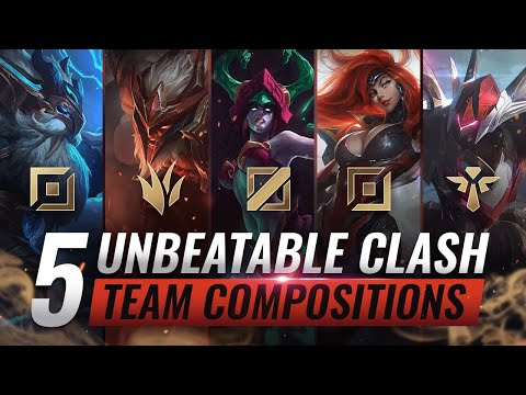 5 UNBEATABLE Team Compositions For CLASH YOU MUST ABUSE - League of Legends Season 10