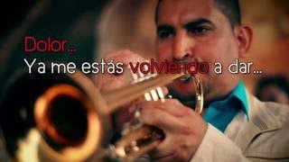 CUENTO TRES Y TE VAS   LUIS ALBERTO POSADA | (VIDEO LYRICS)
