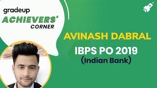 IBPS PO कैसे बनें | Success Story of Avinash Dabral | IBPS Clerk Topper Interview by Yashi Pandey
