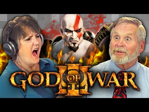 ELDERS PLAY GOD OF WAR 3 (Elders React: Gaming)