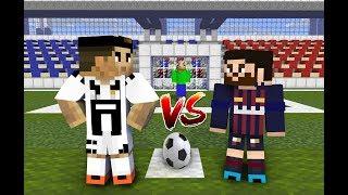 Monster School : Penalty Shoots (ft. Cristiano Ronaldo, Leo Messi, Baldi) - Minecraft Animation