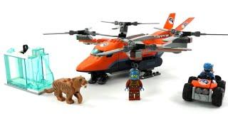 LEGO City Set 60193 Arktis-Frachtflugzeug / Review deutsch