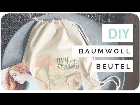 DIY // Baumwollbeutel bedrucken - Goodie Gutscheine für Signierstunde