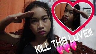 Vlog#39:Kill This Love Dance Cover😊 (grabehan!)