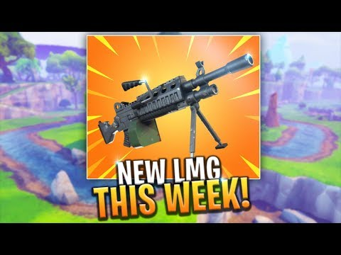 *NEW* LMG WEAPON UPDATE COMING THIS WEEKEND FOR SEASON 4! - Fortnite: Battle Royale