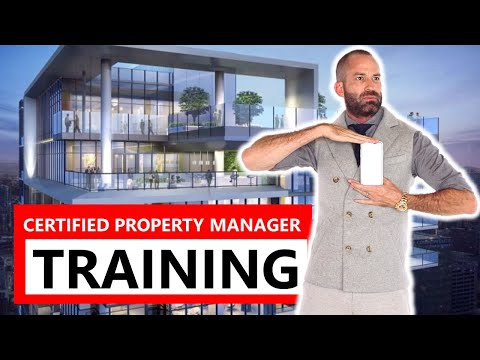CERTIFIED PROPERTY MANAGER TRAINING - YouTube