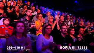 Sofia och Danny - If only you - True Talent final 8