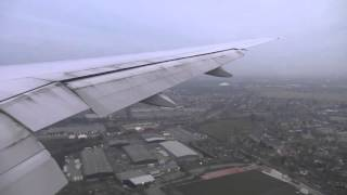 United Airlines Flight 918 - IAD to LHR - Boeing 777-200 - Arrival (Descent, Approach, Landing)