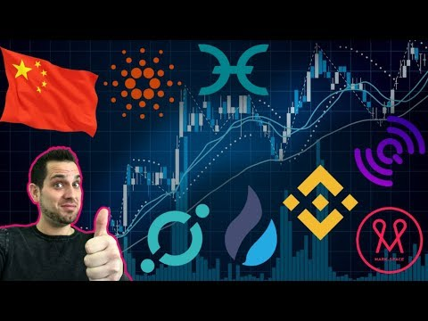 Good News From China! Hard Forks/Airdrops 🤑 $QLC $NNC | ICO Exit Scam? Exchange Wars! $WTC $ADA $HT