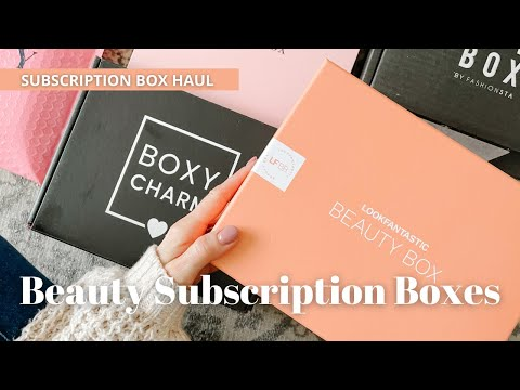 5 Beauty Boxes You Need to Try