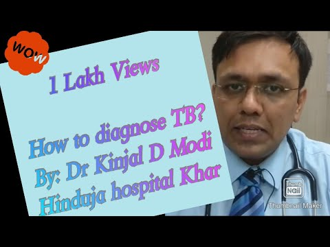Video Diagnosis of TB - explained in Hindi