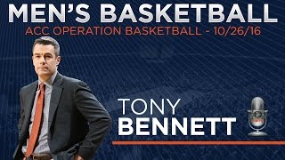 MEN'S BASKETBALL: ACC Media Day - Tony Bennett