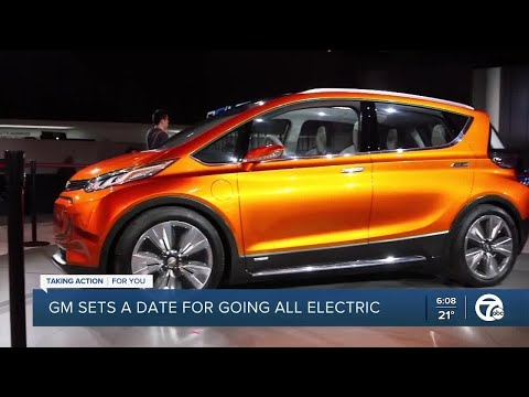 GM plans to achieve carbon neutrality in global products & operations by 2040