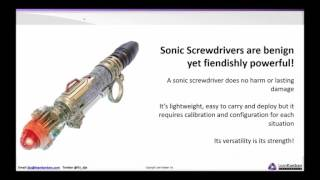 Classes of Service – sonic screwdriver of Kanban Coaching. David J Anderson