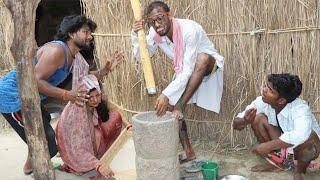 चिरकुटवा छाटे चाऊर पतोहिया मारे मुसर || घर में हुआ घमासान युध्द खाना खातिर || Chirkut Baba khesari2