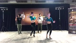 16 février : cours de ladystyle à l'International Salsa Shine Contest à Paris