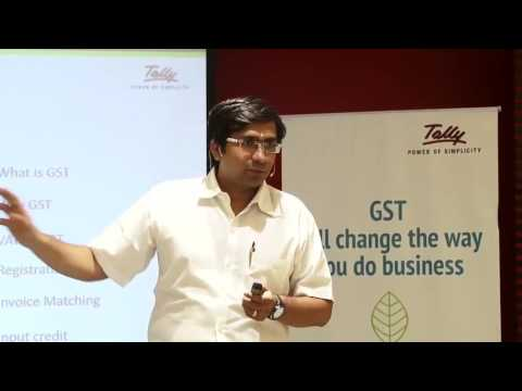 TALLY – Integration with regards to GST by Darshan Shah, Tally ERP Part 1/2