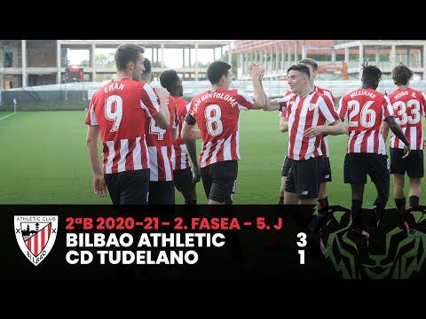 ⚽ Resumen I 2. Fasea – 5. J – 2ªDiv B I Bilbao Athletic 3-1 CD Tudelano I Laburpena