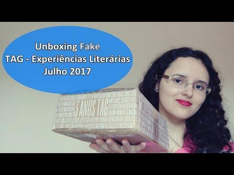 UNBOXING: TAG EXPERIÊNCIAS LITERÁRIAS JULHO DE 2017