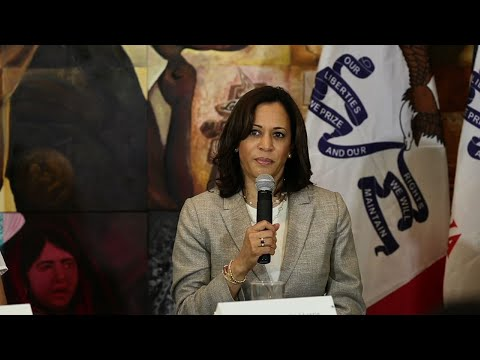 Senator and presidential candidate Kamala Harris says she's personally been told 'go back to where you came from.' The California Democrat, in Iowa, had an angry response to President Trump's recent tweet about four Democratic congresswomen. (July 17)
