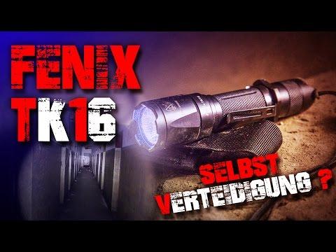 Fenix TK16 Review - Taschenlampe LED - Bunker Unterwelt Horror - (deutsch/german) Deutschland