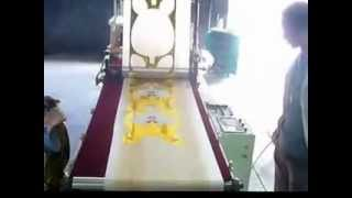 preview picture of video 'automatic foil rabbit balloon forming machine'