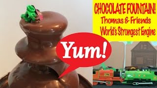 Thomas And Friends Chocolate Fountain - World's Strongest Engine