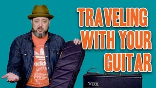 Gear Thursday: How to Travel with Your Guitar | Marty Schwartz