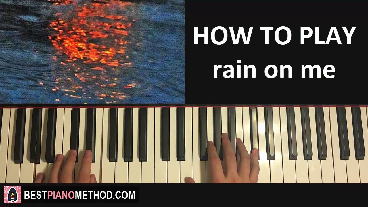 HOW TO PLAY - joji - rain on me (Piano Tutorial Lesson