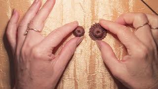 Ягодки для коричневого платья. Вязание крючком.