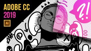 Adobe Illustrator CC 2019 NEW FEATURES (AWESOME)