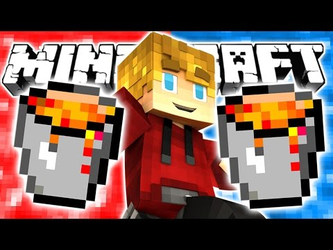 Minecraft RED VS BLUE Lava Wars!