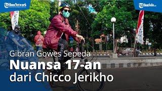 Sambil Gowes, Gibran Terima Rekomendasi PSI, Ternyata Sepeda Pemberian Aktor Chicco Jerikho